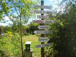 Visite du jardin des Forges à Saint Nazaire
